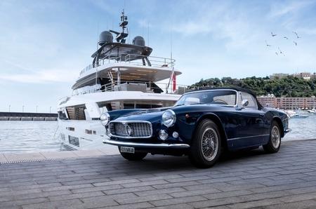 Классические автомобили Maserati взяли штурмом повороты  11-го Исторического Гран При Монако