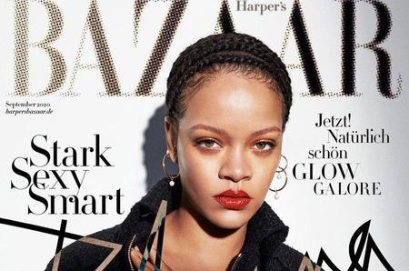 В сентябре все 26 версий Harper's Bazaar выйдут с Рианной на обложке