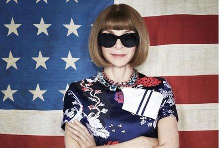 Анна Винтур на обложке Business of Fashion. Май, 2017