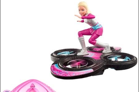 Barbie® «Кукла Barbie с радиоуправляемым ховербордом».