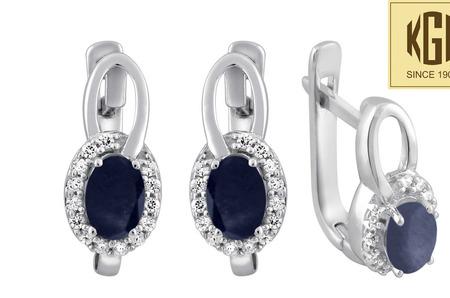 КГК Кристалл Джэвэлс: коллекция драгоценных камней в серебре