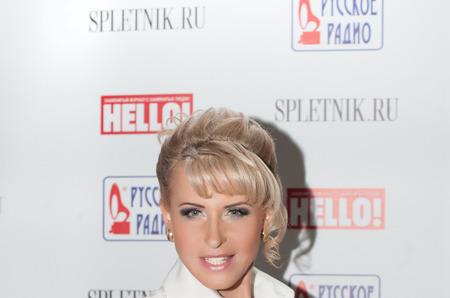 Елена Нарукова на премии Hello!