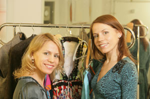 IEVA & ILZE CECINAS (LATVIA). Коллекция весна-лето 2009