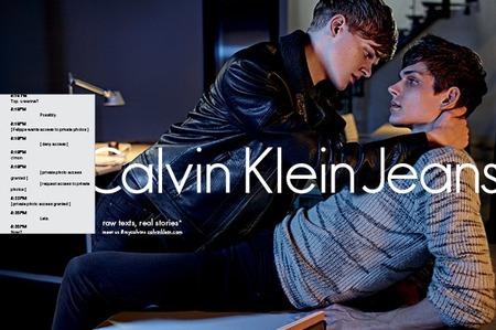 Провокационная реклама Calvin Klein Jeans. Осень-зима 2015-16