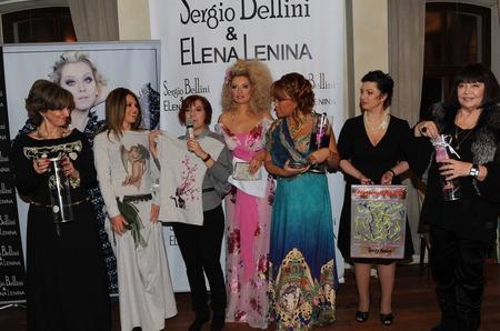 Дефиле из серебра «Sergio Bellini & Elena Lenina»