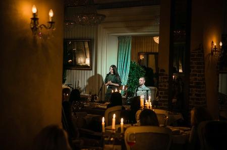 Наталья Подольская, Ирина Гринева и Екатерина Одинцова прониклись поэзией Катарины Султановой