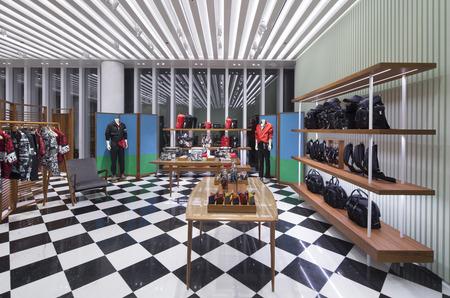 Новое пространство Prada на выставке Art Basel