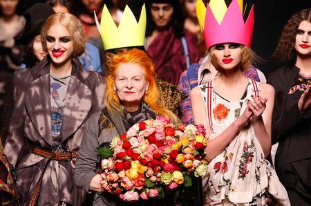 The British Fashion Awards для Вивьен Вествуд