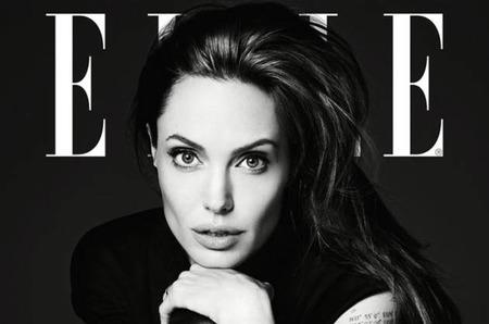 """Эди Слиман снял Анджелину Джоли для июньского выпуска """"Elle"""""""