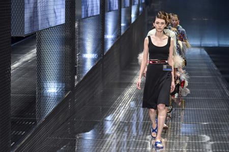 Неделя моды в Милане: Prada. Весна-лето, 2017