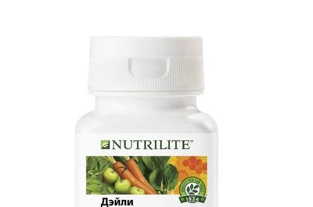 Базовый комплекс для ежедневной поддержки организма – NUTRILITE™ Дэйли