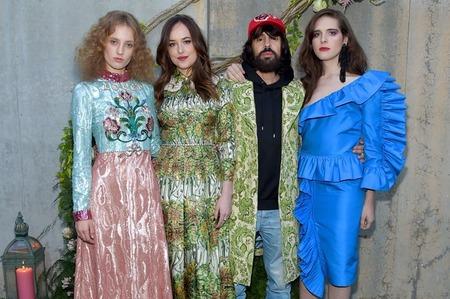 Алессандро Микеле назвал лиц нового аромата Gucci