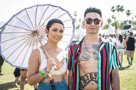 Стритстайл: Гости фестиваля Coachella 2018
