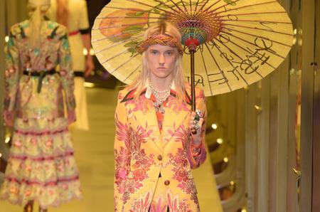 Неделя моды в Милане: Gucci. Осень, 2017
