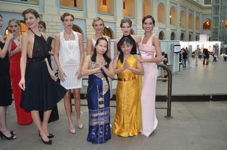 Сеть салонов ТАЙРАЙ позаботилась о моделях на Volvo-Недели моды в Москве