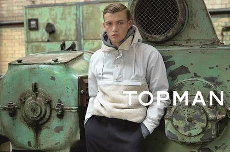 Гоша Рубчинский стал автором рекламы Topman