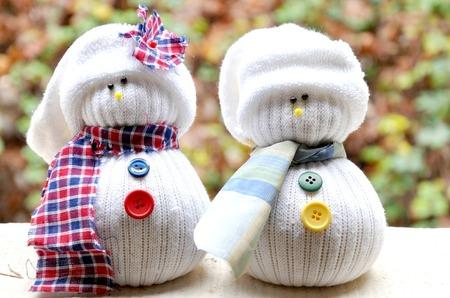 """Снеговики из носков и другие модные сувениры от мастерской впечатлений """"Жажда творчества"""""""