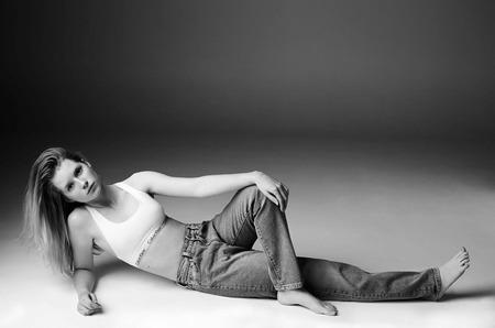 Проект Перезагрузка: Лотти Мосс для Calvin Klein Jeans