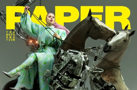 Леди Гага стала главной героиней нового номера Paper Magazine