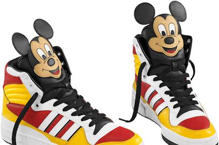 Микки Маус в новой коллекции Adidas
