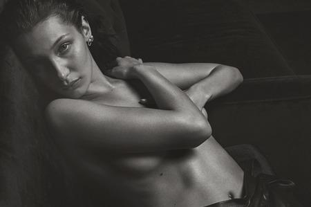 Белла Хадид в откровенной фотосессии V Magazine. Весна, 2017