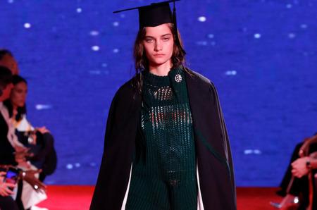 Неделя моды в Нью-Йорке: Calvin Klein 205W39NYC. Весна, 2019