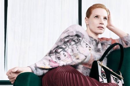 Джессика Честейн в рекламной кампании Prada. Pre-Fall, 2017