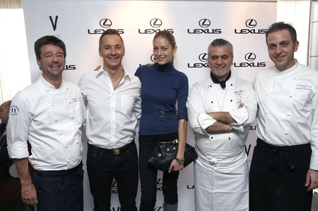 Lexus принял участие в фестивале итальянской гастрономии в ресторане Vаниль