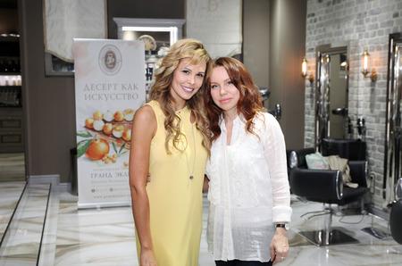 Коктейль с амбассадором DAVIANI beauty&SPA актрисой Марией Горбань