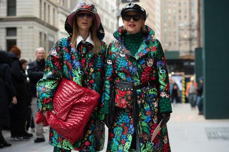 Стритстайл: Гости Недели моды в Нью-Йорке. Осень, 2020