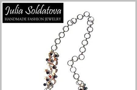 РАСПРОДАЖА! -30% на украшения прошлых коллекций от Julia Soldatova!