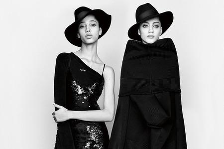 Ведущие модели в фотопроекте Vogue Japan. Февраль, 2017