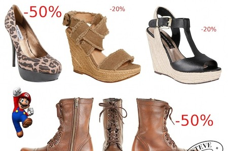 Sneak Peek в магазинах Steve Madden: -20% -30% -50%