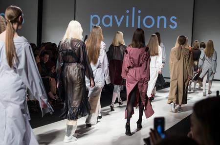 Показ Paviljons осень-зима 2017-18 в рамках Riga Fashion Week