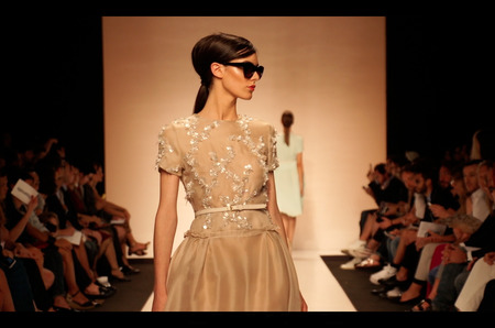 Эксклюзивный показ итальянского дуэта Greta Boldini в рамках модной недели Galeria Fashion Week 2014