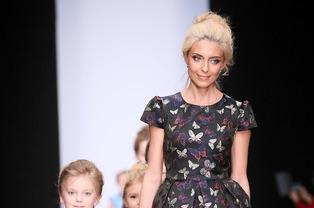 Alisia Fiori на Fashiontime Designers: воспитание тонкого вкуса с детства