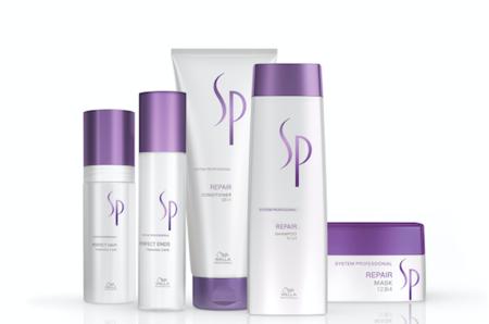 Роскошный восстанавливающий уход Repair от System Professional для осенней красоты волос
