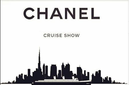 Показ коллекции Cruise 2015 Chanel в Дубае