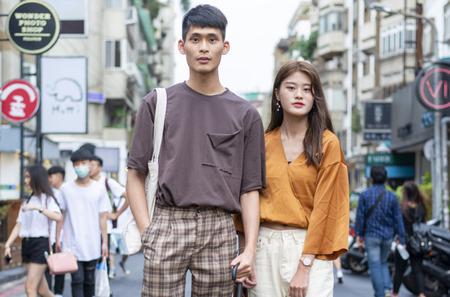 Как одеваются модники Тайбэя?