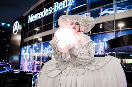 Волшебный вечер S-Lounge в салоне продаж «Мерседес-Бенц РУС»