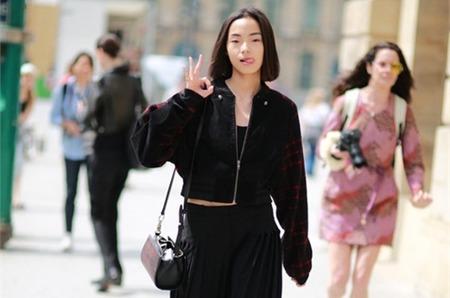 Стрит стайл моделей: парижская неделя моды Haute Couture 2014