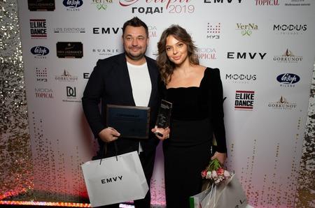 Журнал MODA topical и Косметический бренд EMVY представили: 11-я ежегодная премия  «Пара Года 2019»!