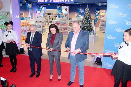 Первый в России магазин игрушек Disney