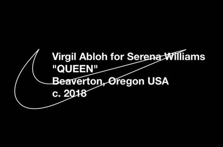 Коллаборация недели: Вирджил Абло и Серена Уильямс для Nike