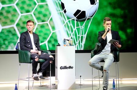 Федор Смолов стал лицом бренда Gillette в России
