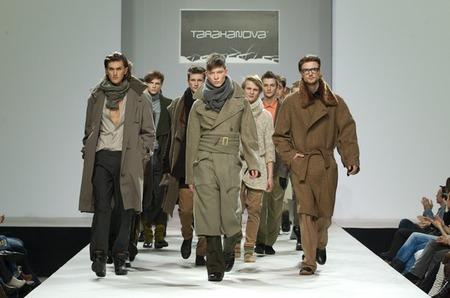 "Показ коллекции осень-зима 2011/2012 ""Попутчики"" на Volvo Fashion Week"