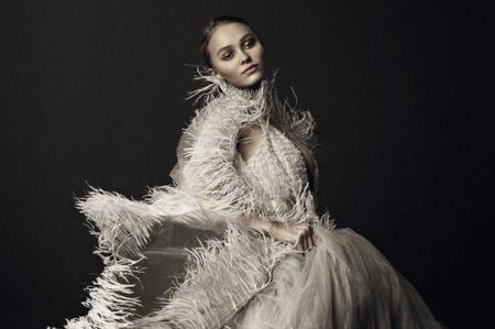 Лили-Роуз Депп в фотопроекте Vogue Italia. Март, 2017