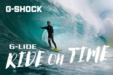 Покоряя волны с G-SHOCK G-LIDE