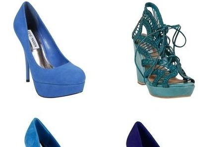 Тренд сезона от Steve Madden: синий цвет