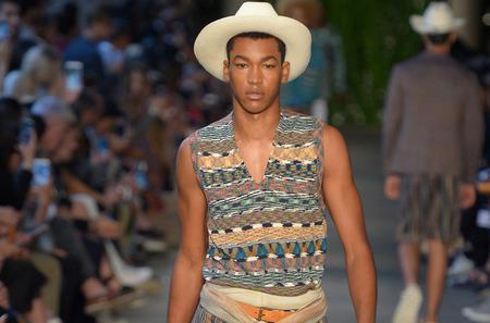 Неделя мужской моды в Милане: Missoni. Весна-лето, 2017